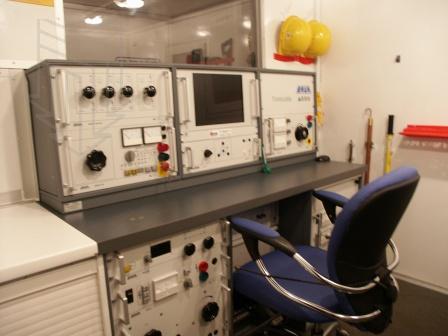 Лаборатория высоковольтных испытаний hvt br / на шасси камаз 43114