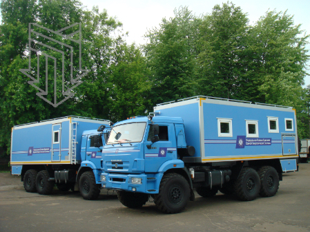 Линейный бригадный автомобиль ЛБА (Транспортно-бытовая машина ТБМ)