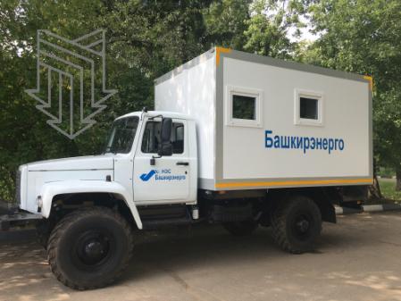 Вклад ООО «МПЗ» в электросетевой комплекс Башкирии: Автомобиль оперативно-выездной бригады ОВБ