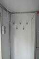 Полка верхняя для приборов и принадлежностей с раздвижными дверями